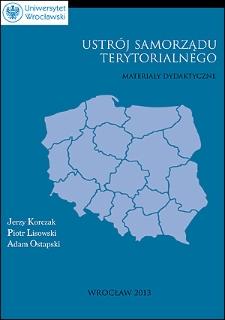 Ustrój samorządu terytorialnego : materiały dydaktyczne