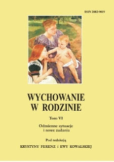 """""""It is not easy to be a parent"""" – presentation of the main assumptions of the programme intended for the parents benefitting from the help of the Miejski Ośrodek Pomocy Społecznej(the City Social Services Centre) in Wałbrzych"""