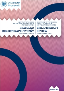 Care about the mental health of youth – between dialogue and bibliotherapy
